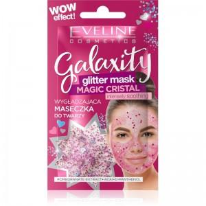 Eveline Cosmetics - Gesichtsmaske - Galaxity Glitter Mask Pink