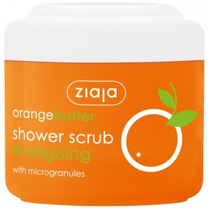 Ziaja - Orange Butter Shower Scrub with Microgranules