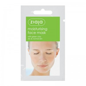 Ziaja - moisturising face mask with green clay