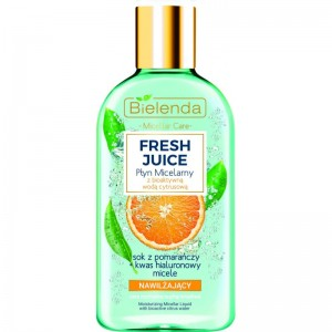 Bielenda - Mizellenwasser - Fresh Juice Moisturizing Micellar Liquid With Bioactive Citrus Water Ora
