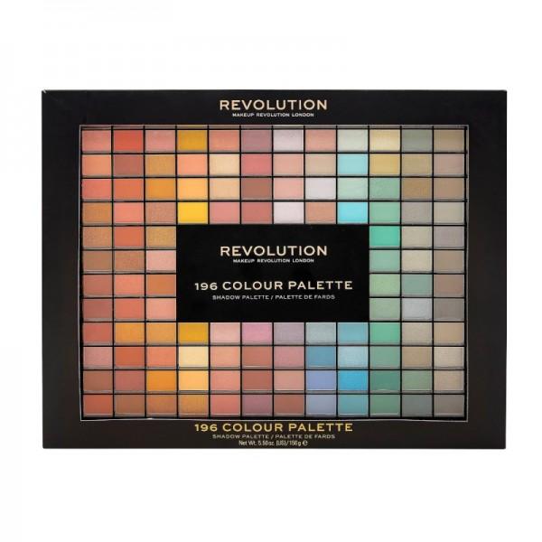 Revolution - Lidschattenpalette - 196 Colour Palette