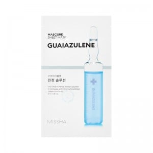 MISSHA - Maschera di cura - Mascure Calming Solution Sheet Mask - Guaiazulene