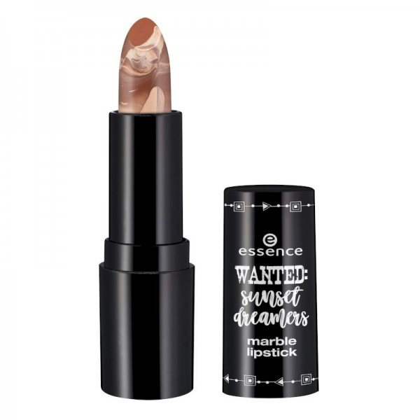 essence - Lipstick - wanted: sunset dreamers - marble lipstick - 01 I'll never desert you