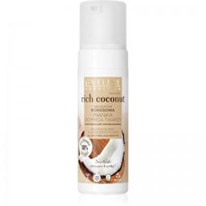 Eveline Cosmetics - Reinigungsschaum - Rich Coconut Delicate Coconut Cleansing Foam - 150ml
