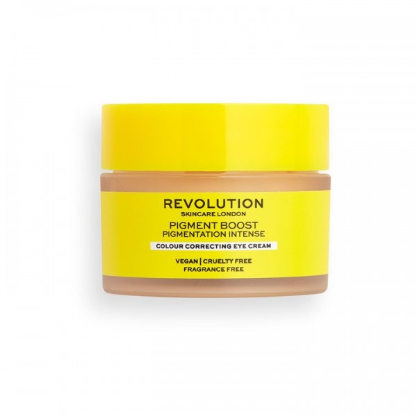 Revolution - Augencreme - Skincare Pigment Boost Colour Correcting Eye Cream