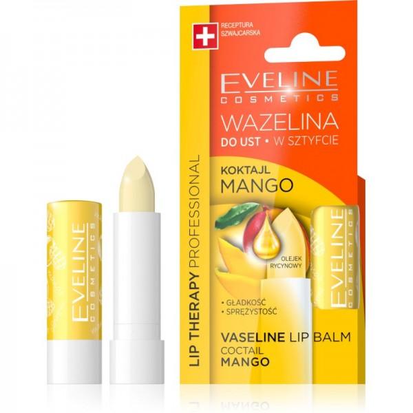 Eveline Cosmetics - Lippenpflege - Lip Therapy Vaseline Lipbalm Mango