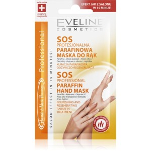 Eveline Cosmetics - Handmaske - Hand & Nail Therapy Sos Professional Paraffin Handmaske
