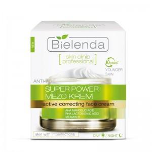 Bielenda - Gesichtscreme - Skin Clinic Professional Active Correcting Face Cream With Mandelic Acid