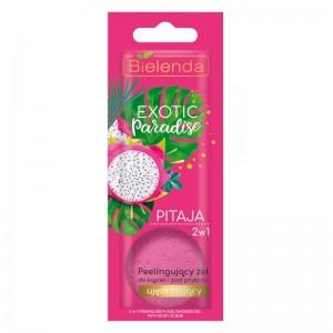Bielenda - Duschgel - Exotic Paradise 2In1 Peeling Bath And Shower Gel Firming Pitaya