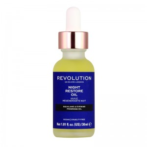 Revolution - Skincare Night Restore Oil