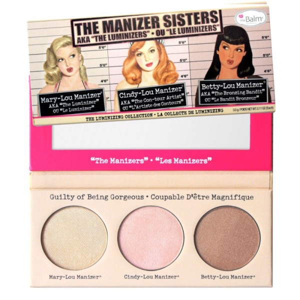 The Balm - Highlighter Palette - The Manizer Sisters