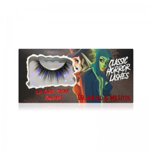 LASplash Cosmetics - False Eyelashes - Classic Horror Faux Mink Falsies - Dr. Jekyll & Ms. Hyde