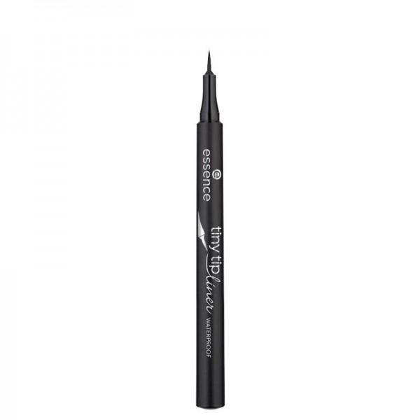 essence - Eyeliner - tiny tip liner waterproof 01 - Deep Black