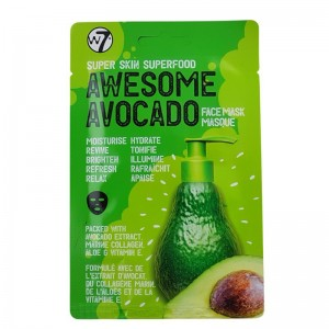 W7 - Gesichtsmaske - Awesome Avocado Face Mask