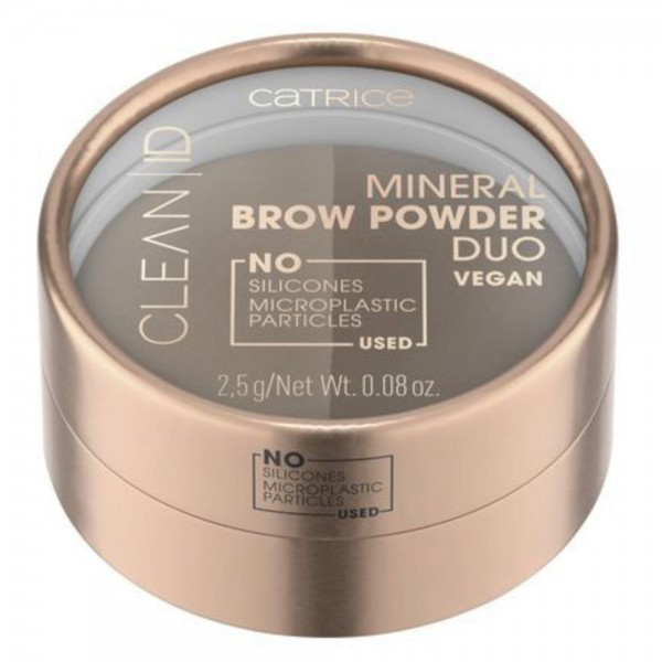 Catrice - Augenbrauenpuder - Clean ID Mineral Brow Powder Duo - 010 Light To Medium