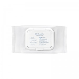 Missha - Super Aqua Ultra Hyalon Cleansing Oil Wipes