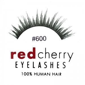 Red Cherry - Falsche Wimpern Nr. 600 Delaney - Echthaar