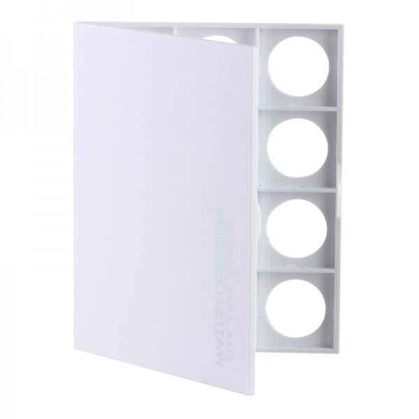 Makeup Obsession - Leerpalette - Palette Large Basic Total White Obsession