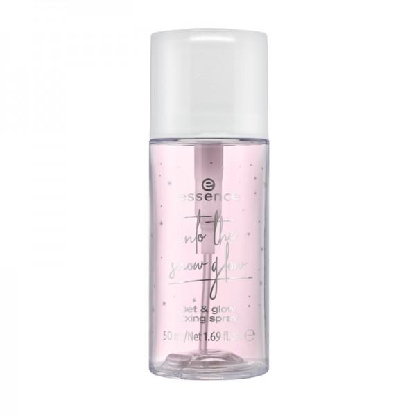 essence - Fixierspray - into the snow glow - set & glow fixing spray 01