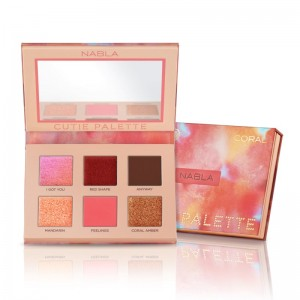 Nabla - Cutie Palette - Denude Collection - Coral
