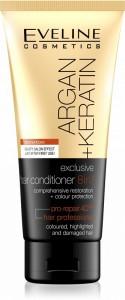 Eveline Cosmetics - Haarspülung - Argan + Keratin Exclusive Hair Conditioner 8In1