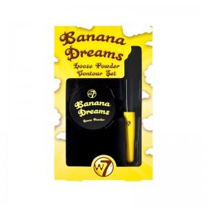 W7 Cosmetics - Contour Set - Banana Dreams Loose Powder