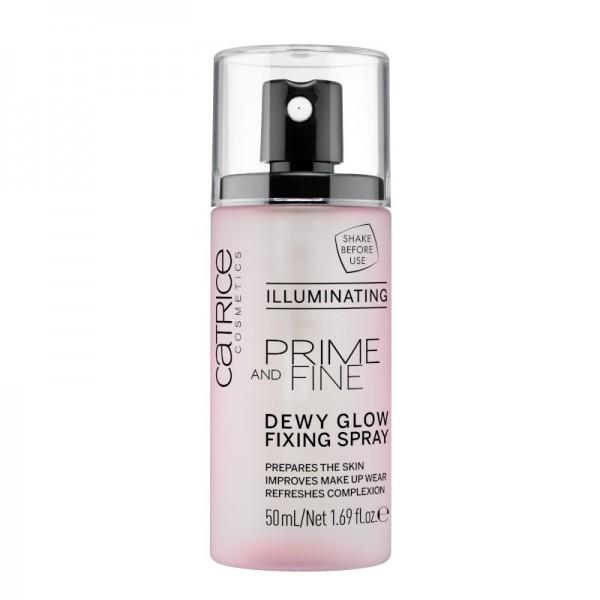 Catrice - Fixierspray - Prime And Fine Dewy Glow Fixing Spray