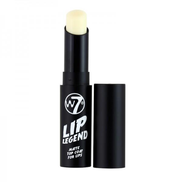 W7 Cosmetics - Matte Top Coat For Lips - Lip Legend