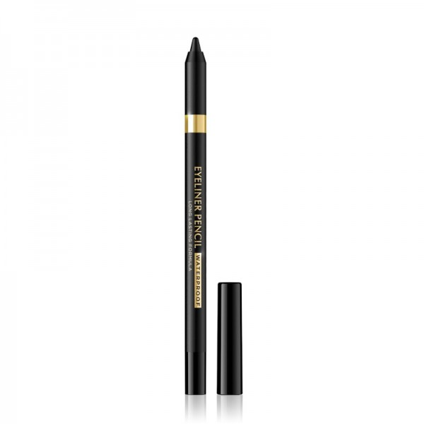 Eveline Cosmetics - Eyeliner - Eyeliner Pencil Waterproof - Black