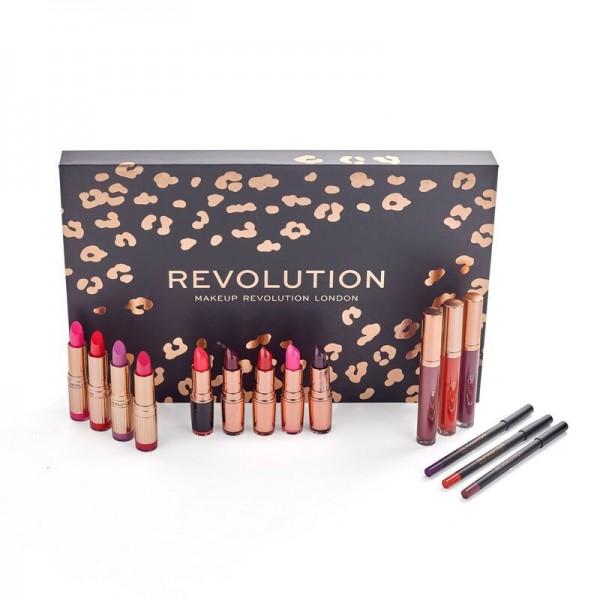 Revolution - Geschenkset - Lip Revolution Reds