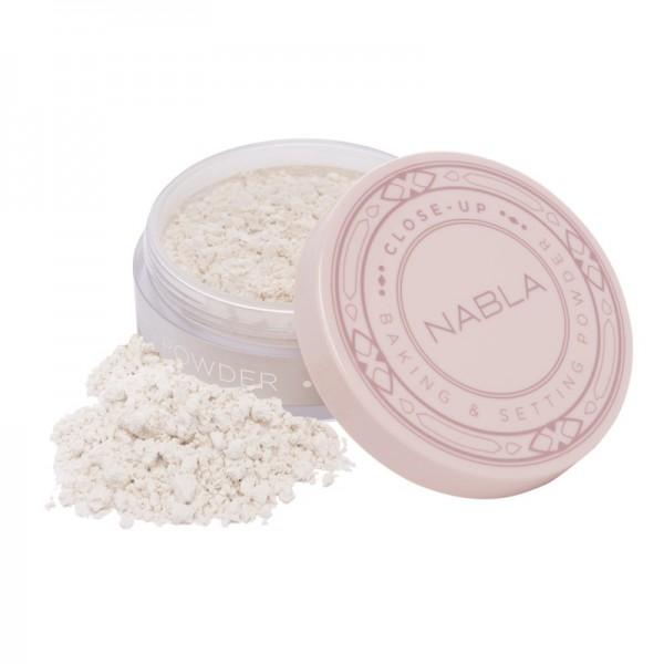 Nabla - Puder - Close-Up Line - Baking & Setting Powder - Translucent