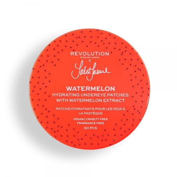 Revolution - Augenpads - Skincare x Jake Jamie Watermelon Hydrating Undereye Patches