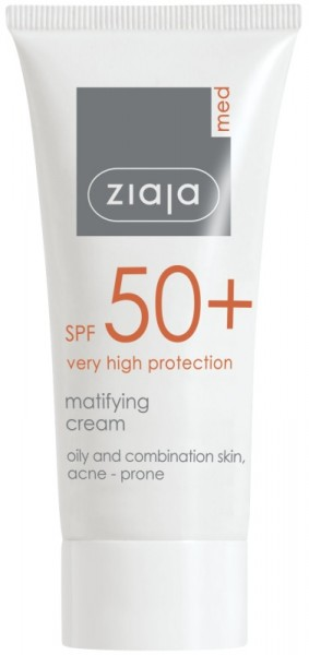 Ziaja Med - Mattifying day care - Matifying Cream SPF 50+