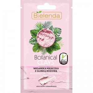 Bielenda - Gesichtsmaske - Botanical Clays Vegan Mask With Pink Clay