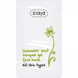 Ziaja - Face Mask - Cucumber Mint Enzyme Mask