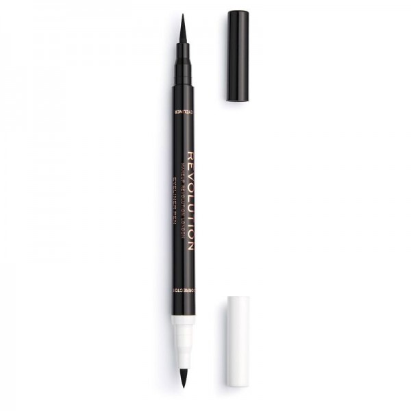 Revolution - Revolution Flick & Correct Eyeliner & Corrector Pen