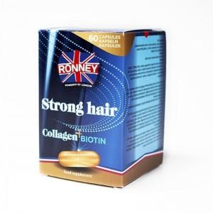 Ronney Professional - Nahrungsergänzungsmittel - Food Supplement Strong Hair Collagen + Biotin 60 ca