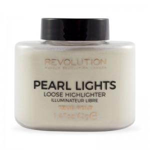 Makeup Revolution - Highlighter - Pearl Lights Loose Highlighter - True Gold