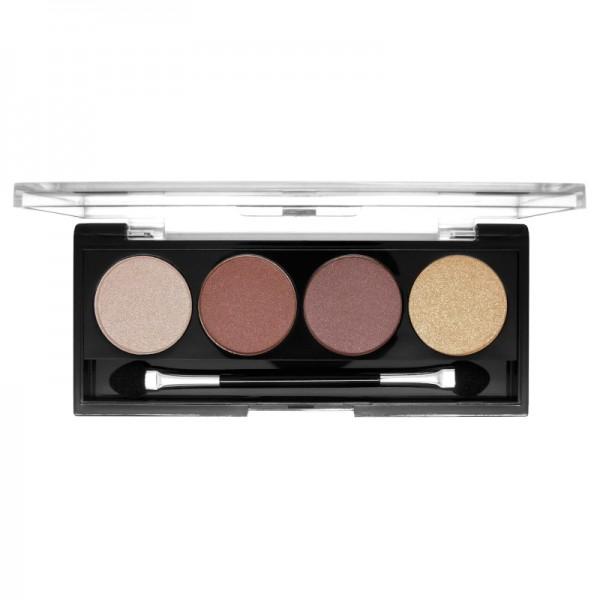 W7 Cosmetics - Lidschattenpalette - Lets Go Quad Eye Colour - Lets go Beige