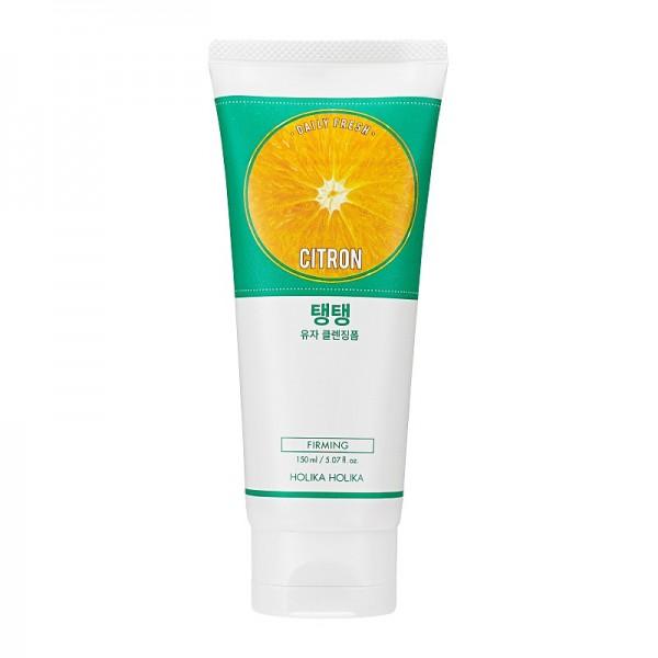 Holika Holika - Gesichtsreiniger - Daily Fresh Citron Cleansing Foam - 150 ml