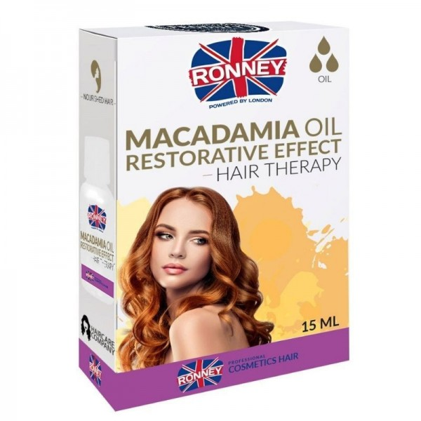 Ronney Professional - Haaröl - Macadamia Oil Restorative Effect Hair Therapy Oil - 15ml