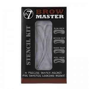 W7 Cosmetics - Augenbrauenschablonen - Brow Master - Stencil Kit