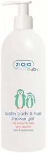 Ziaja - Babyseife - Baby Body & Hair Shower Gel - 6 Months and older