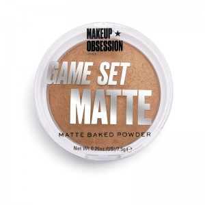 Makeup Obsession - Puder - Game Set Matte - Matte Powder Sahara