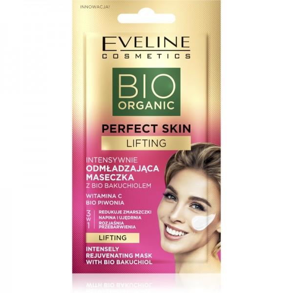 Eveline Cosmetics - Gesichtsmaske - Bio Organic - Perfect Skin Intensiv Verjüngende Maske - Bio Baku
