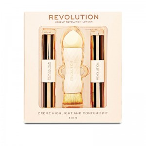 Makeup Revolution - Makeup Set - Creme Highlight and Contour Kit - Fair