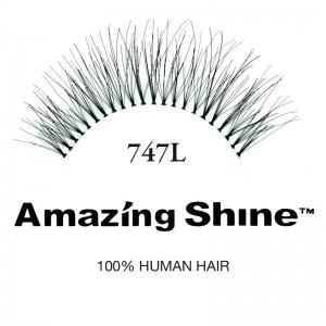 Amazing Shine - False Eyelashes - Human Hair - Nr. 747L