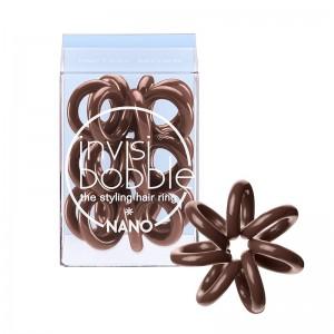 invisibobble - Nano - Pretzel Brown