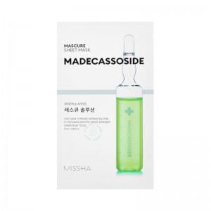 MISSHA - Gesichtsmaske - Mascure Rescue Solution Sheet Mask - Madecassoside