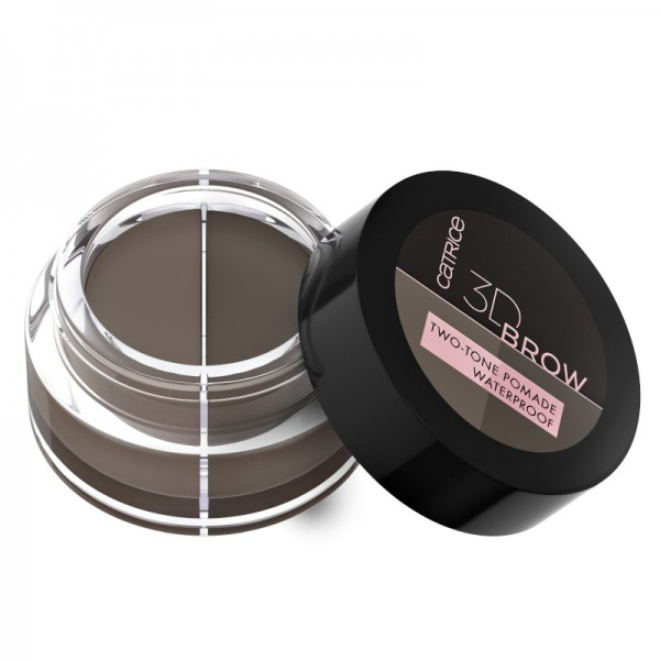 Catrice - Augenbrauenpomade - 3D Brow Two-Tone Pomade Waterproof 020 - Medium To Dark